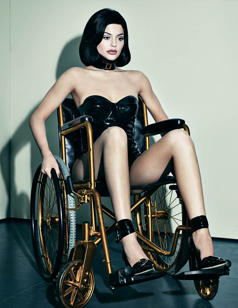 Kylie Jenner photoshoot front cover Interview magazine